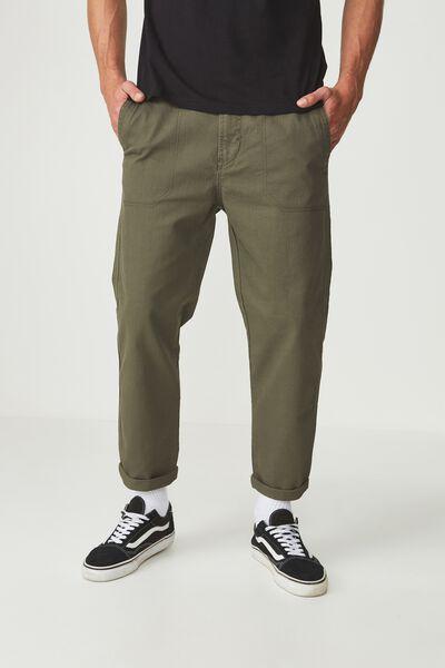 Drake Roller Pant, KHAKI HERINGBONE