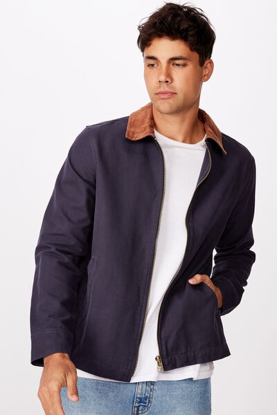 Workwear Jacket, NAVY