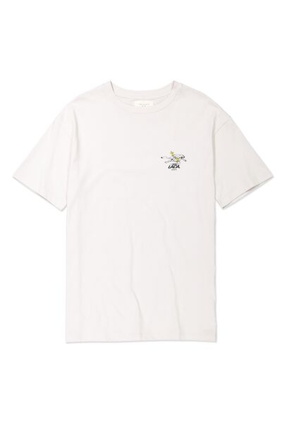Tbar Tee, SK8 WASHED WHITE/LA CA PANTHER