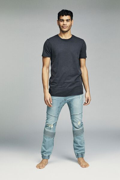 Slim Denim Jogger, STAR BLUE MOTO