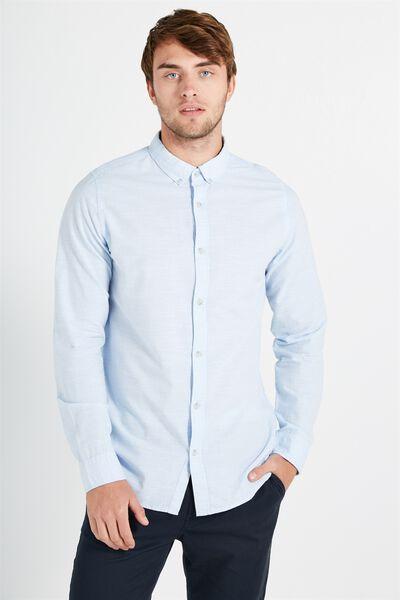 Brunswick Shirt 3, LIGHT BLUE TEXTURE