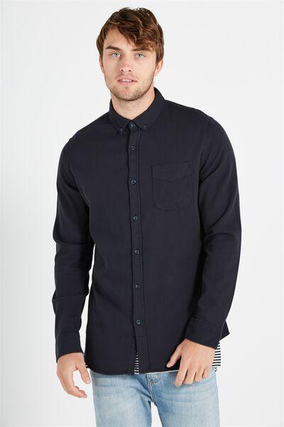 Brunswick Shirt 3, INDIGO TEXTURE