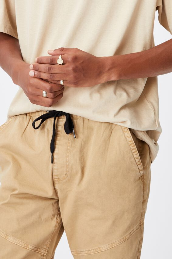 Drake Cuffed Pant, WASHED STONE BIKER