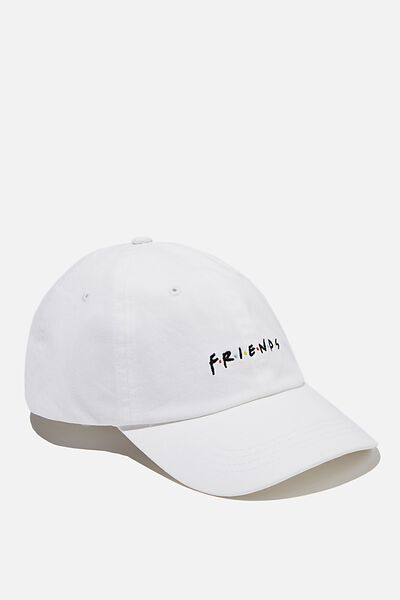 Special Edition Dad Hat, LCN WB FRIENDS/WHITE