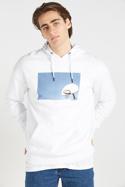 Fleece Pullover 2, WHITE/SYMBOL OF YOUTH