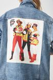 Salt N Pepper Denim Jacket, SALT N PEPA/BLUE