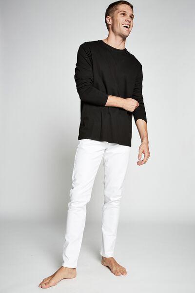 Slim Fit Jean, WHITE