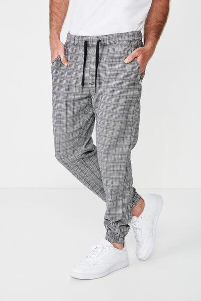 Drake Cuffed Pant, LIGHT PRINCE OF WALES CHECK