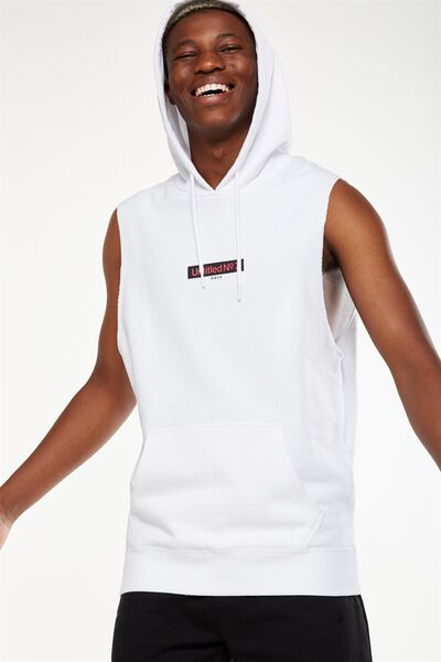 Sleeveless Hood, WHITE/UNTITLED NO 7
