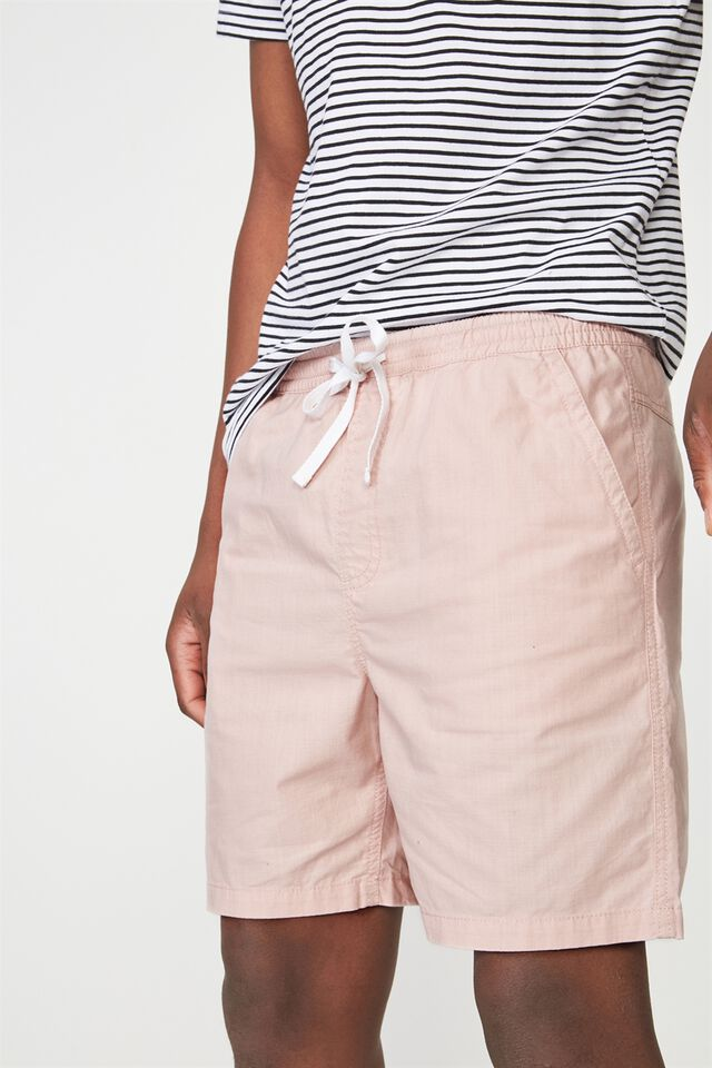 Easy Short, PINK TEXTURE