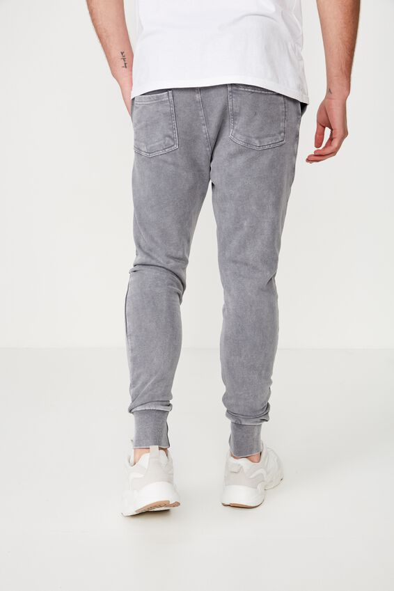 Super Skinny Trackpant, GREY