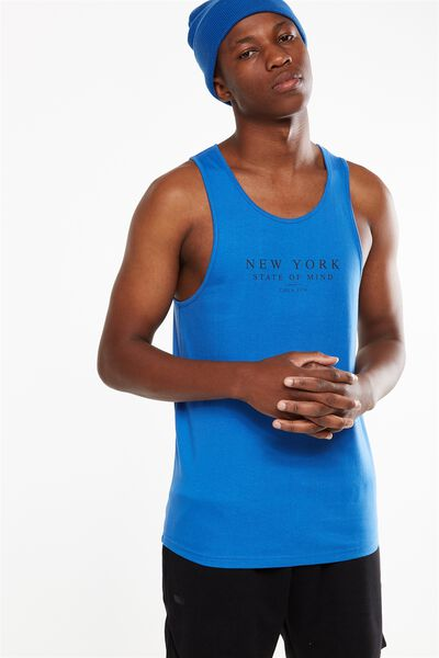 Tbar Anchor Tank, BLUE DELIGHT/NEW YORK STATE OF MIND