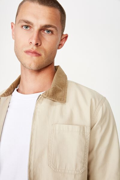 Worker Jacket, ECRU