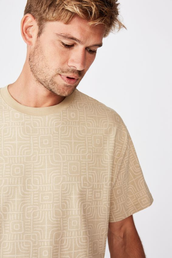 Festival Tee, SAND OPTICAL PATTERN