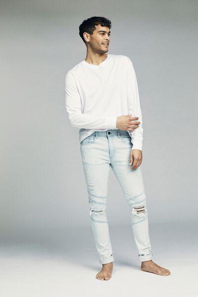 Super Skinny Jean, BIKER OFF BLUE