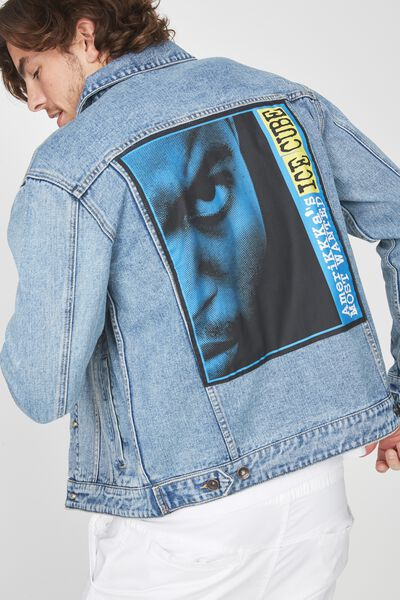 Rodeo Collaboration Jacket, ICE CUBE MOST WANTED/BLUE