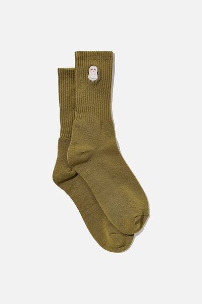 Special Edition Active Sock, LCN IRV GRASS GREEN/HELPFUL ONE