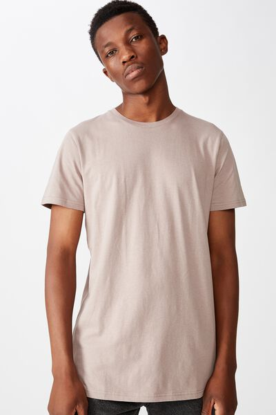 Essential Longline Scoop T-Shirt, DUSK