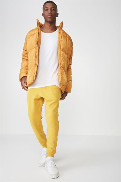 Trippy Slim Trackie, GOLDEN YELLOW