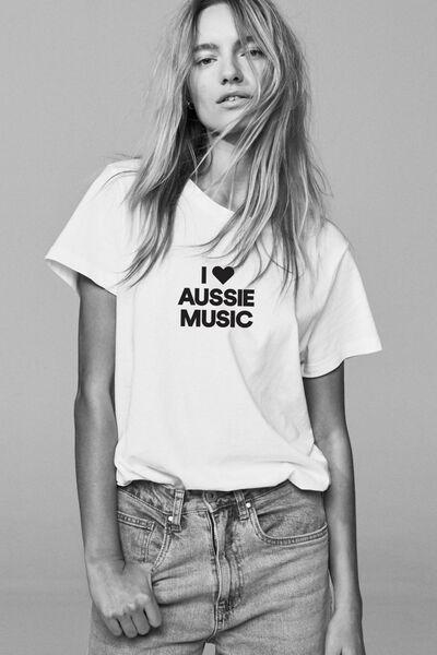 Mens Event Crew T-Shirt, WHITE