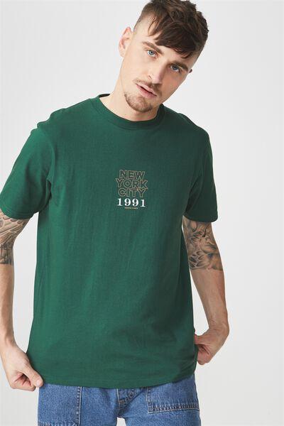 Tbar Tee 2, POSY GREEN/NYC 1991