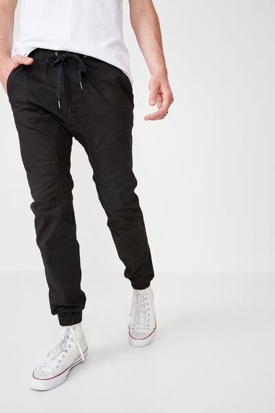 Drake Cuffed Pant, TRUE BLACK