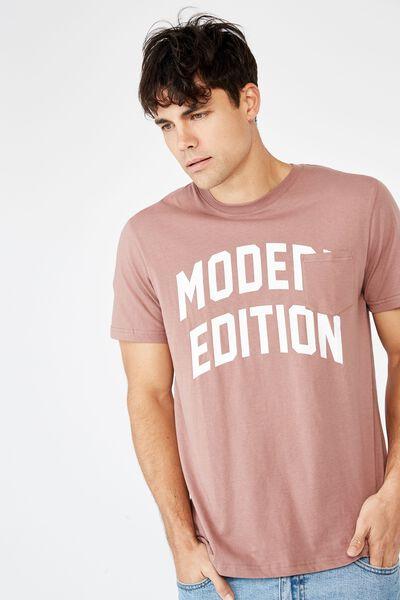 Tbar Sport T-Shirt, DIRTY BURG/MODERN EDITION CREST