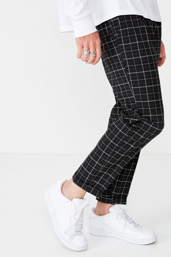 Oxford Trouser, SHADOW CHECK
