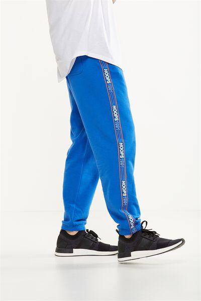 Classic Track Jogger, COBALT BLUE/HOOPS