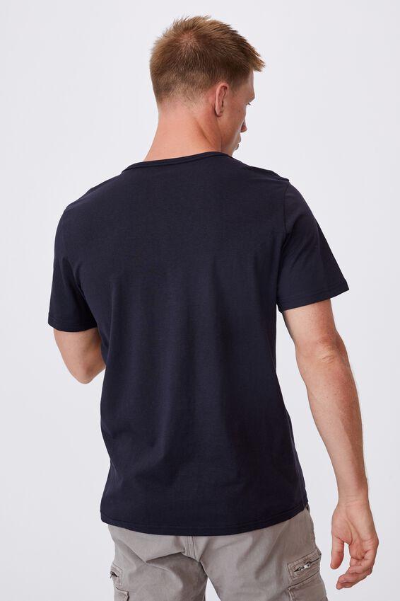 Essential Henley T-Shirt, INK NAVY