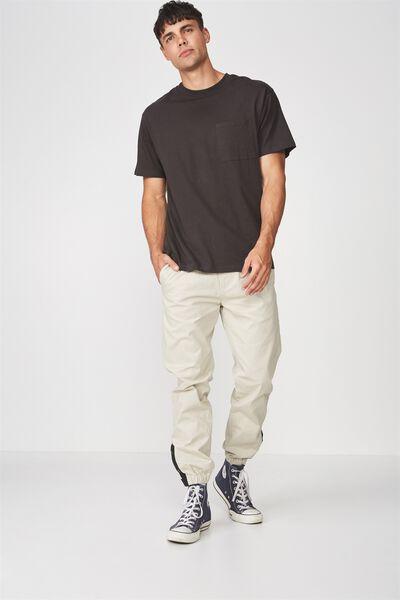 Drake Cuffed Pant, CASHEW SNAPPED HEM