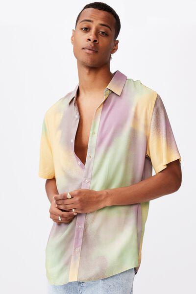 91 Short Sleeve Shirt, MULTI AEROSOL