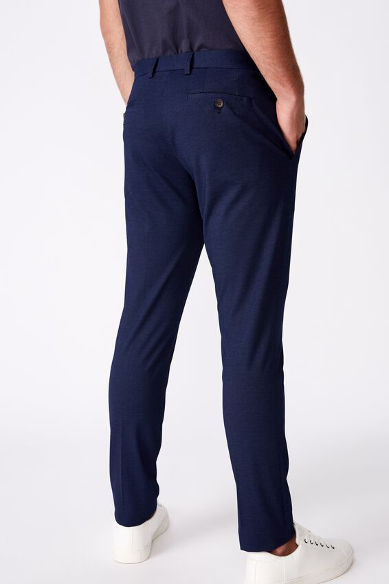 Super Stretch Suit Slim Pant, INDIGO BLUE