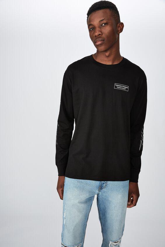 Tbar Long Sleeve, BLACK/BASIC PROJECTS