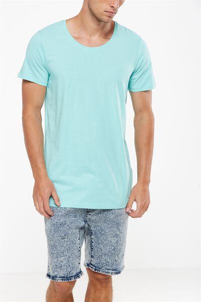 Essential Scoop Neck, ARUBA BLUE
