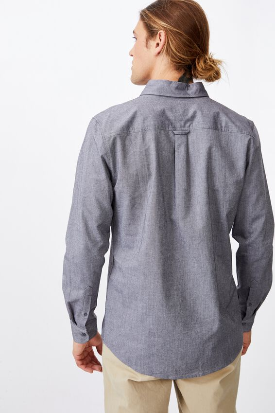 Brunswick Shirt 3, GREY NEP