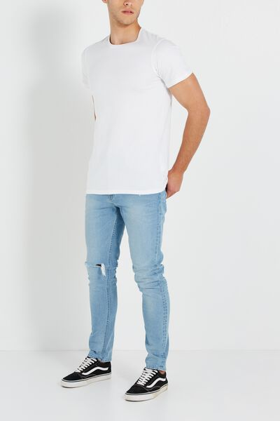 Tapered Leg Jean, DAY PEPPER