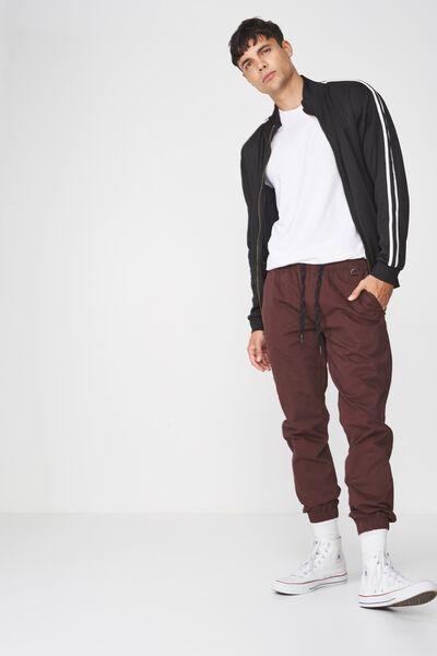 Drake Cuffed Pant, OXBLOOD