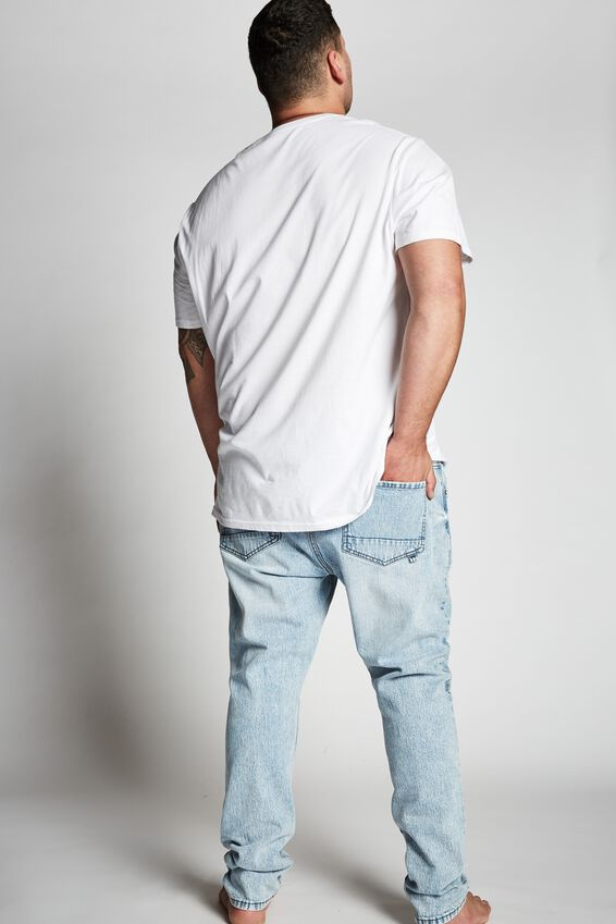 Bg Slim Fit Jean, GRAVITY BLUE+ RIPS