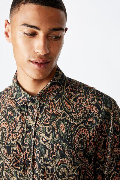91 Short Sleeve Shirt, MULTI PAISLEY