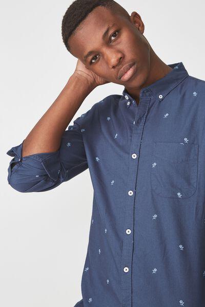 Brunswick Shirt 3, NAVY ROSE