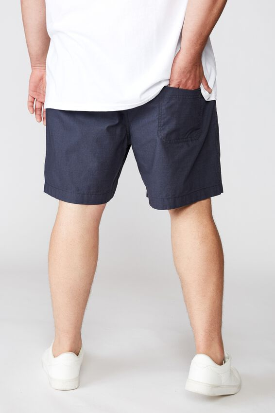 Bg Easy Short, NAVY/TEXTURE