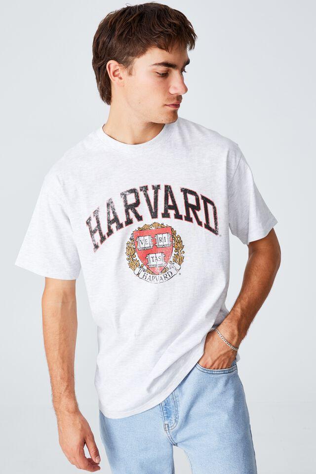 Special Edition T-Shirt, LCN HAR WHITE MARLE/HARVARD - VINTAGE CREST