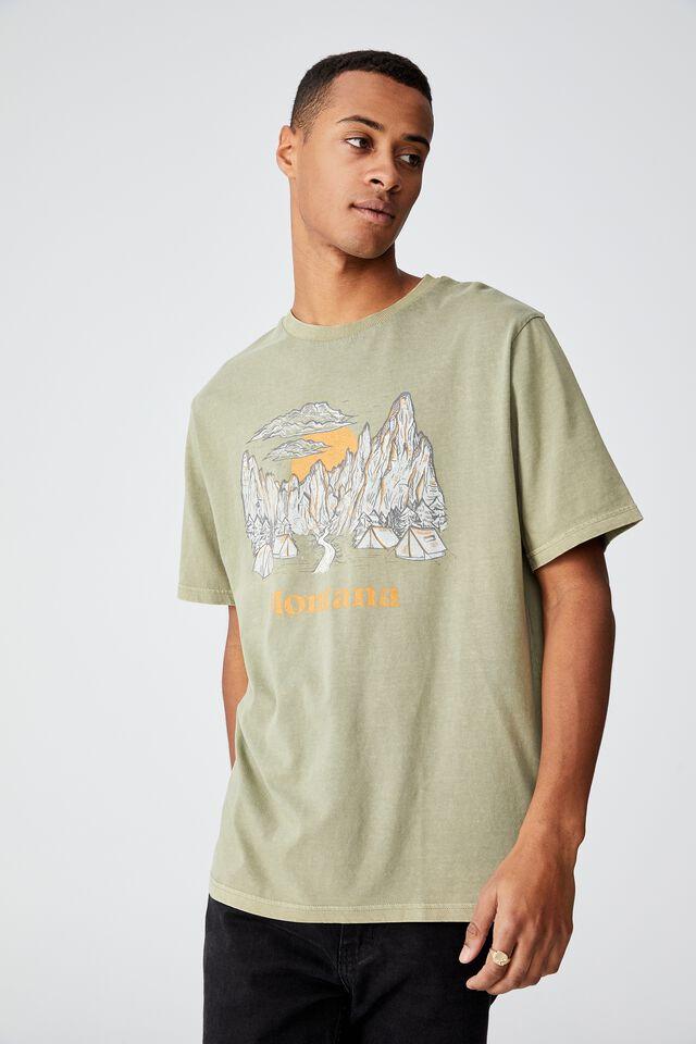 Bondi T-Shirt, BLAIR GREEN/MONTANA