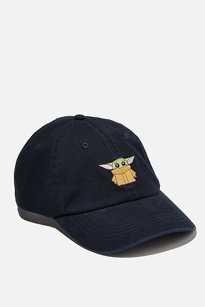Special Edition Dad Hat, LCN DIS NAVY/MANDALORIAN THE CHILD