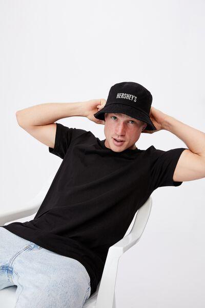 Special Edition Bucket Hat, LCN HER HERSHEYS/BLACK