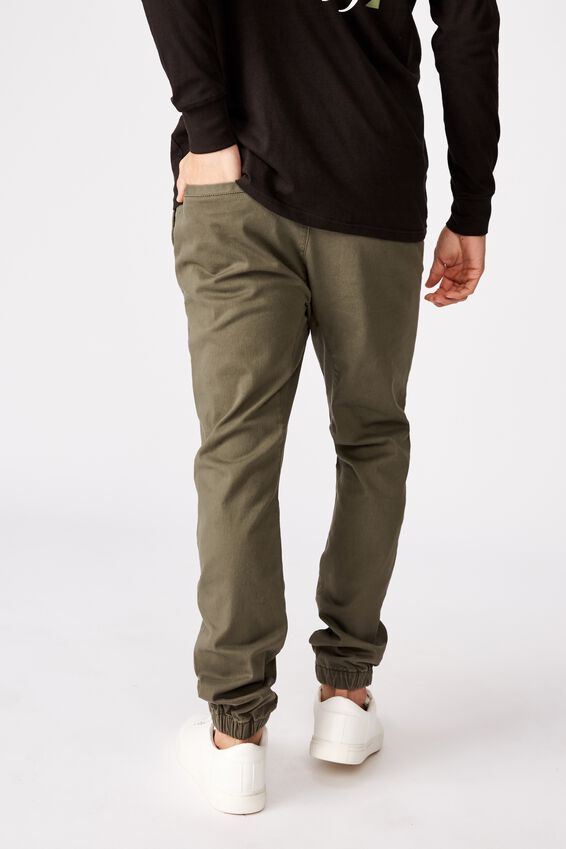 Drake Cuffed Pant, WASHED OLIVE