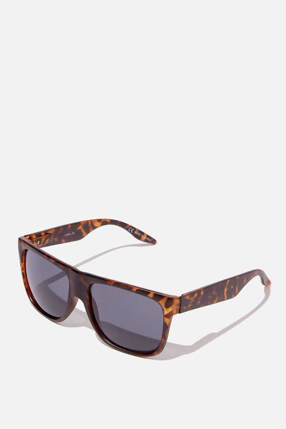 Jeremy Sunglasses, MATTE TORT SMOKE
