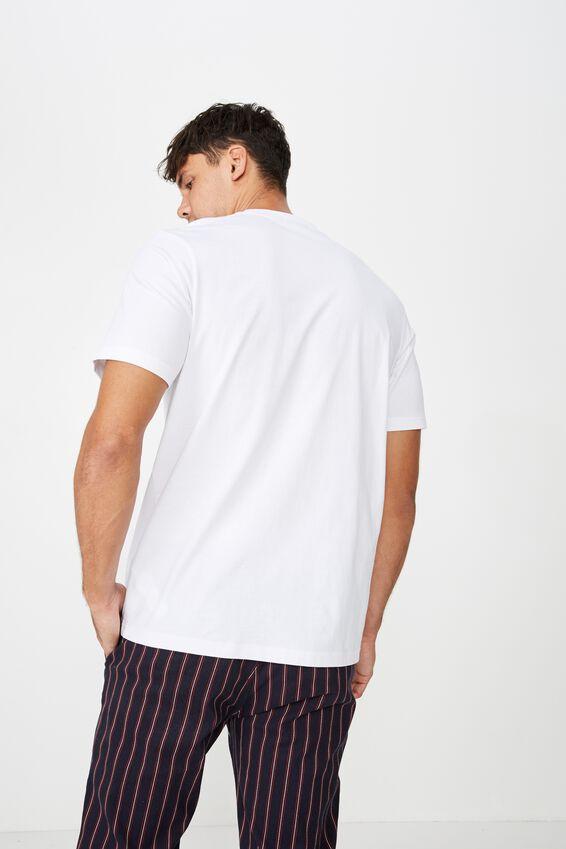 Prince T-Shirt, LCN BRA WHITE/PRINCE - LOGO