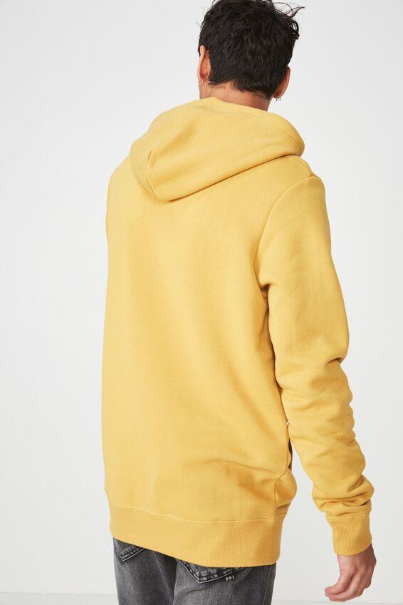 Fleece Pullover 2, NUGGET GOLD/FOR STRANGER TIMES